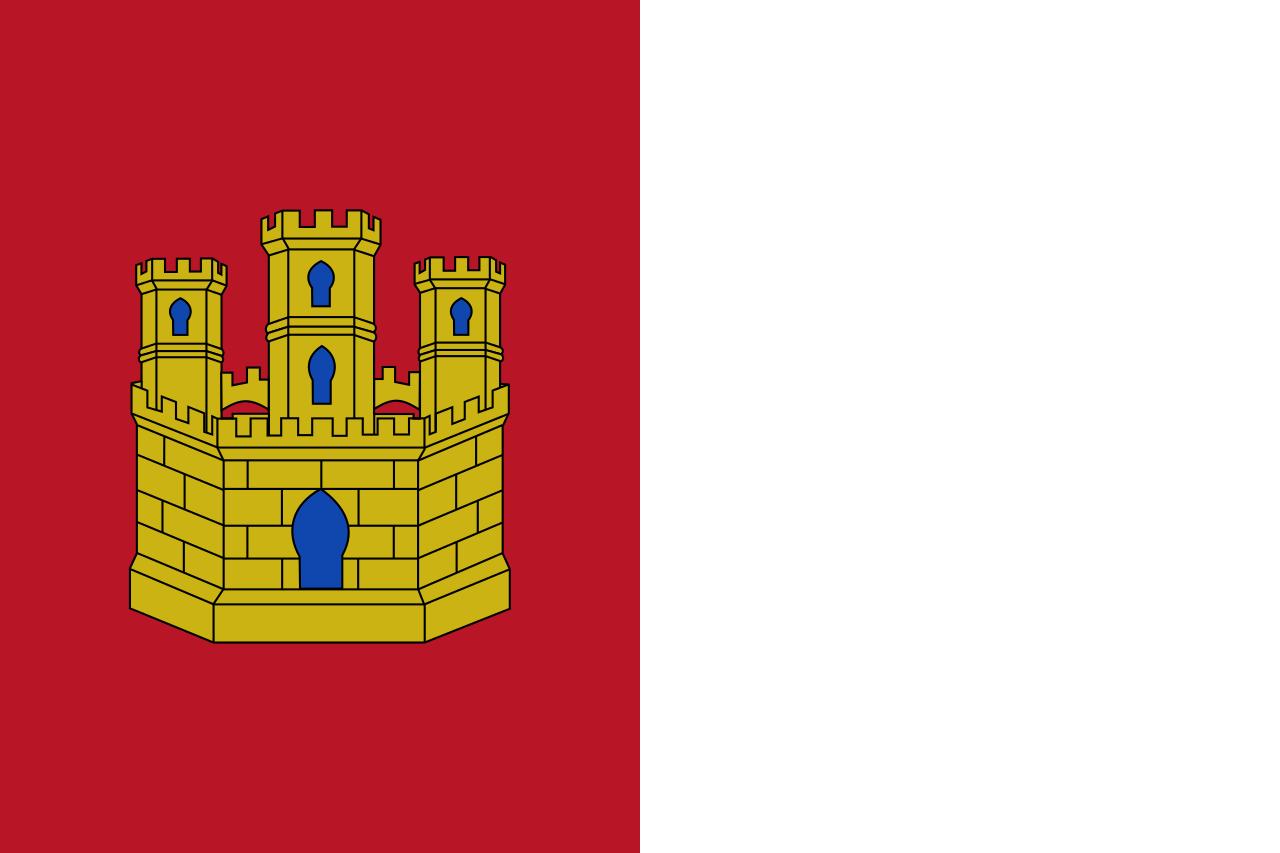 Bandera de la Junta de Comunidades de Castilla-La Mancha