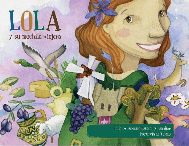 Lola y su mochila viajera