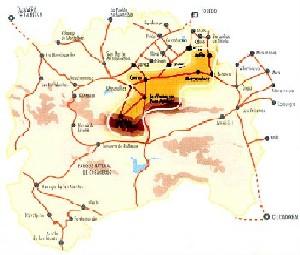 Mapa - Itinerario