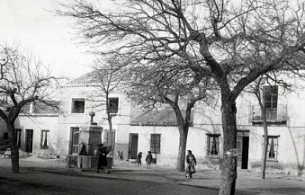 Mascaraque. Plaza. 1959