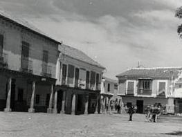 Orgaz. Plaza. 1960