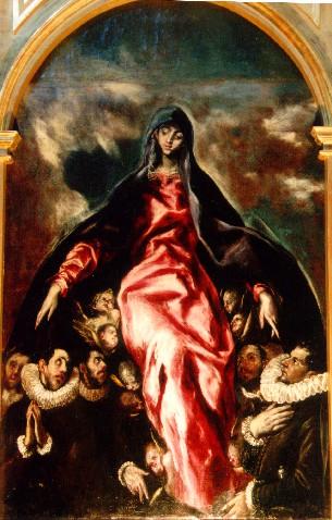 Virgen de la Caridad- El Greco