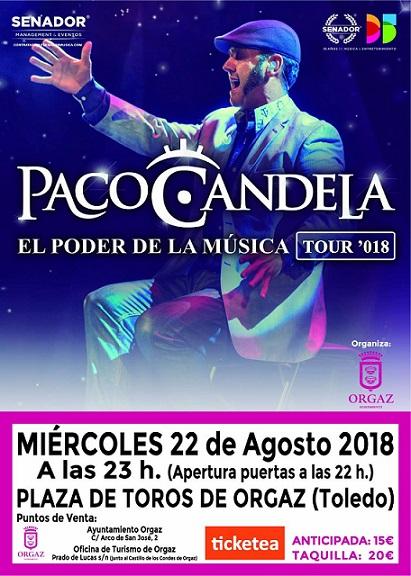 Actuación Paco Candela