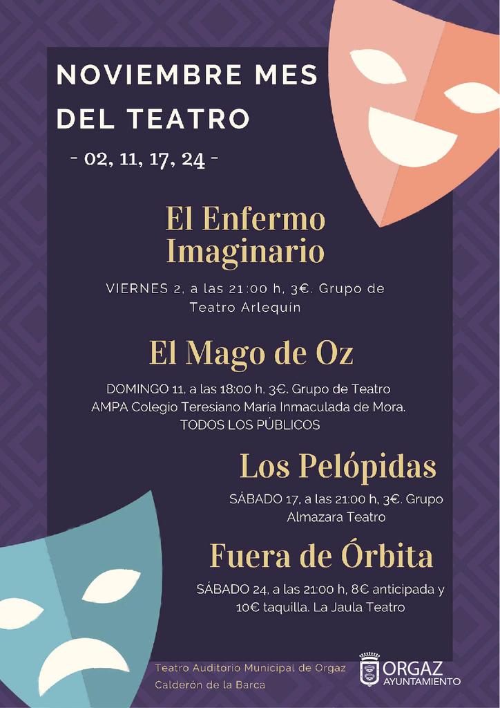 Mes del Teatro en Orgaz