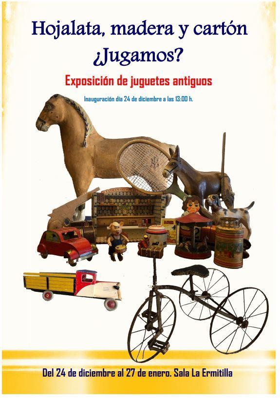 Exposición juguetes antiguos
