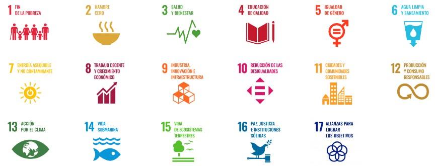 17 ODS de la Agenda 2030