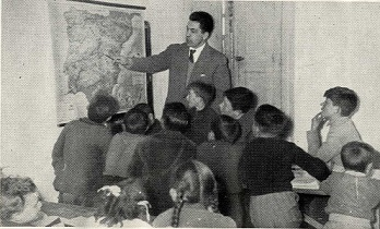 Los alumnos en clase