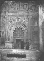 Burgos. Puerta de la Catedral