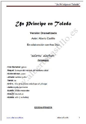 Un Príncipe en Toledo