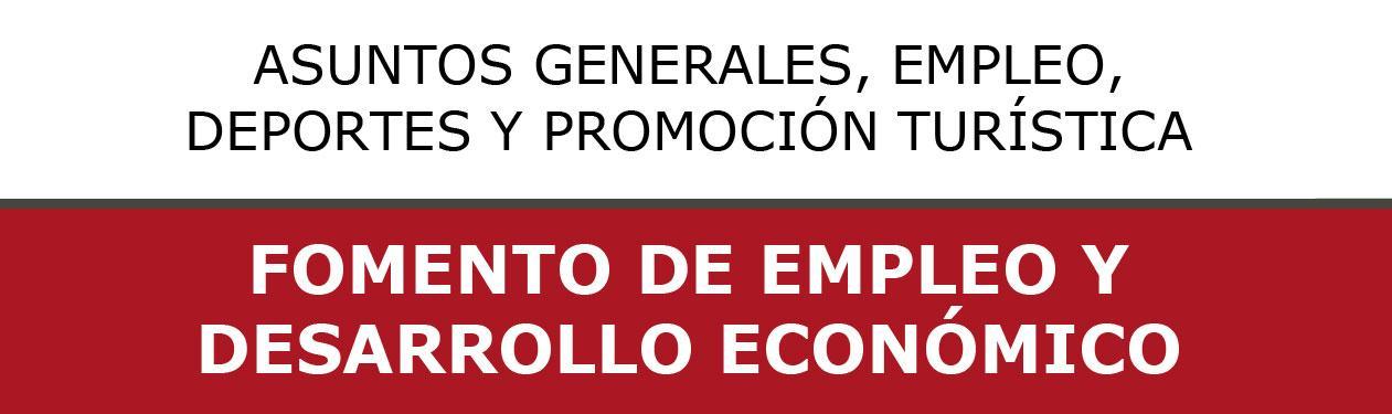 PROGRAMAS DE FORMACIÓN Y EMPLEO
