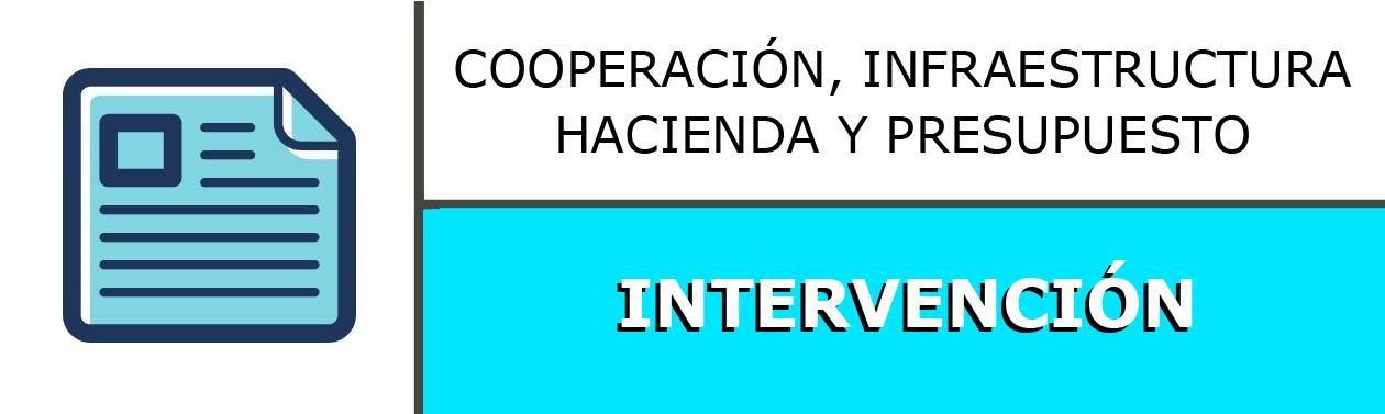 INTERVENCIÓN GENERAL