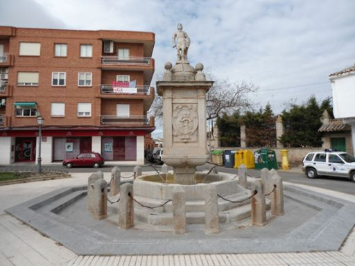 Fuente de San Ildefonso o de los Cuatro Caños