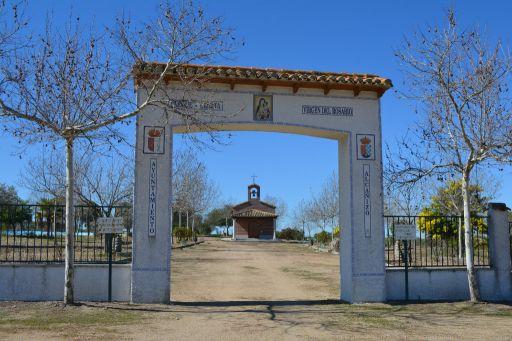 Ermita de la Virgen del Rosario, parque