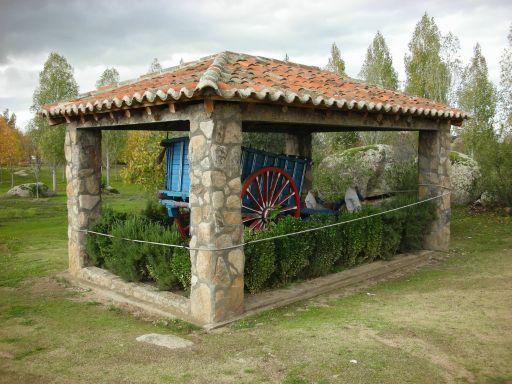 Ermita de la Virgen del Espino, carro