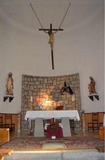 Iglesia de Ntra. Sra. de la Antigua, altar