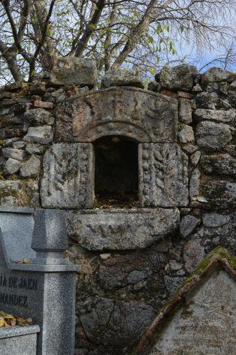 Restos de la Iglesia del Salvador, altar