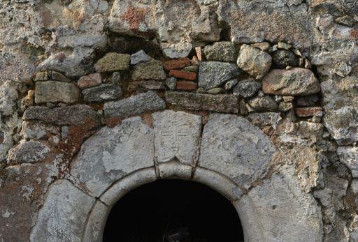 Restos de la Iglesia del Salvador, detalle