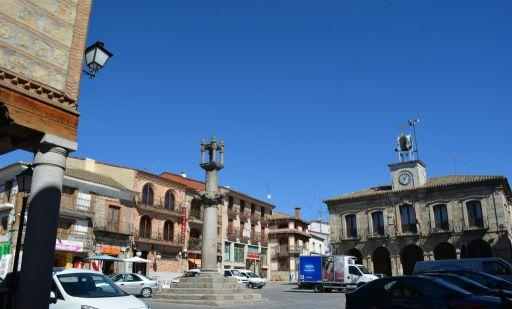 Ayuntamiento y Plaza de la Constitución
