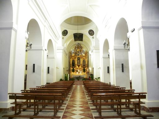 Iglesia parroquial de San Eugenio Mártir, interior