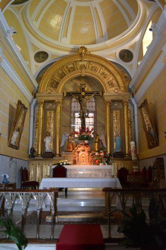 Ermita del Santísimo Cristo de la Sala, interior