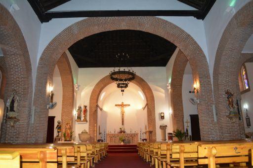 Iglesia parroquial de San Andrés Apostol, interior