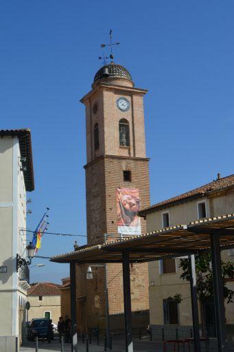 Torre de la iglesia parroquial de San Andrés Apóstol