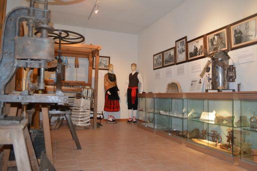 Museo etnológico, Sala oficios