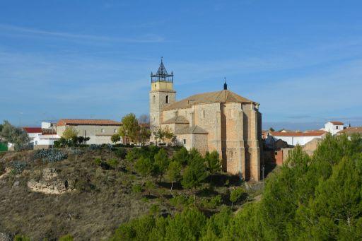 Iglesia parroquial de Nuestra Señora de la Asunción, vista aérea