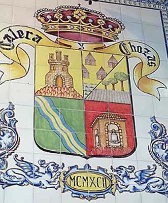 Cerámica, escudo