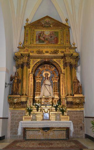 Iglesia de San Juan Bautista, Virgen de la Caridad
