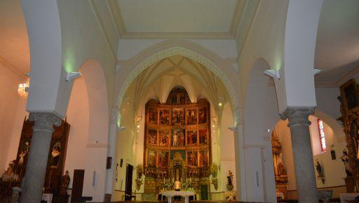 Iglesia de San Juan Bautista, interior