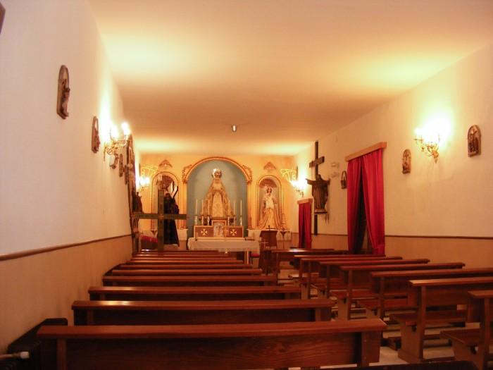 Ermita de la Vera Cruz interior