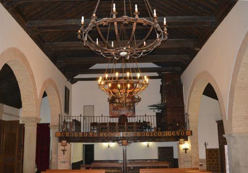 Iglesia parroquial de San Miguel Arcángel, interior coro