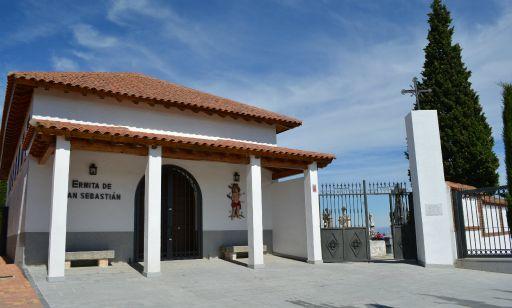 Ermita de San Sebastián, exterior