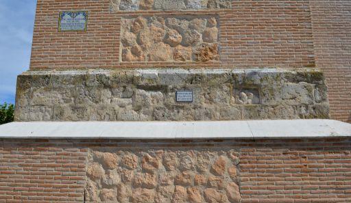 Iglesia de Sta. María Magdalena, restos ruinas del Parque Arqueológico