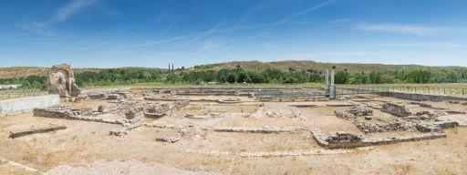 Parque Arqueológico, panorámica del Edificio palacial