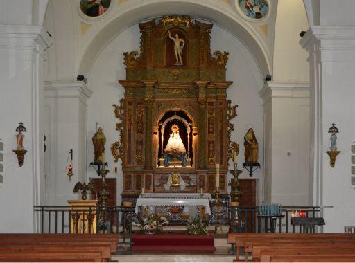 Ermita de Nuestra Señora de la Salud, Interior
