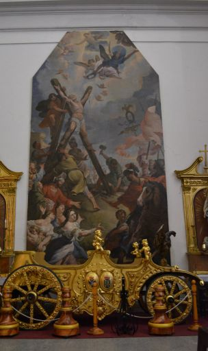 Iglesia parroquial de Santa María,Martirio de San Andrés