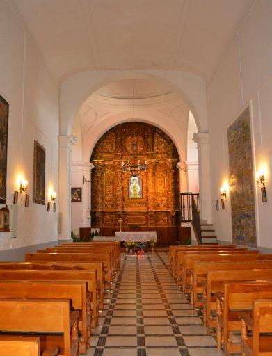 Ermita de Ntra. Sra. de la Antigua y  San Illán, interior