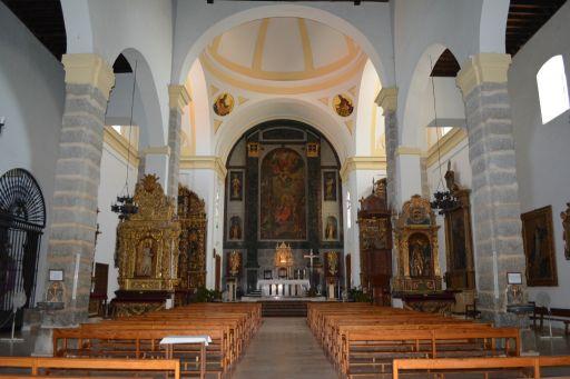 Iglesia parroquial de San Cipriano, interior