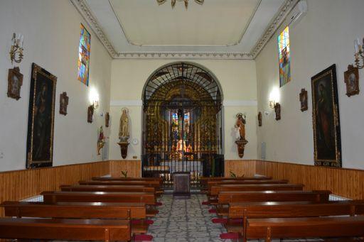 Ermita del Cristo, interior