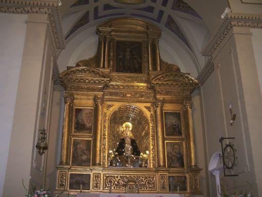 Ermita de la Virgen de la Muela, interior