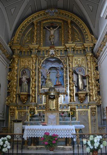 Convento de las carmelitas descalzas, interior iglesia