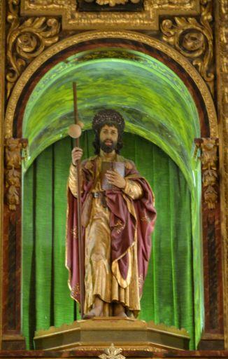 Iglesia parroquial del Apóstol Santiago, Apostol Santiago