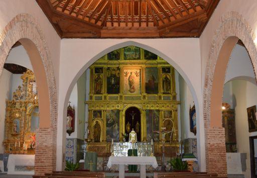 Iglesia parroquial de la Asunción de Nuestra Señora, interior detalle