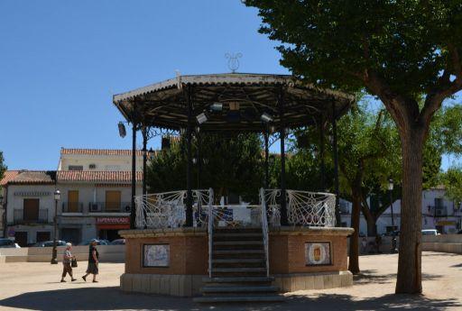 Kiosco de la Plaza del Infante Juan Manuel