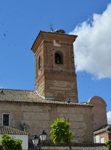 Iglesia Parroquial de Santa Maria Magdalena, torre