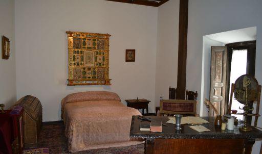 Casa Museo Cervantes, Dormitorio