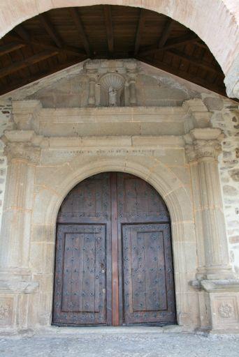 Iglesia parroquial de la Asunción, portada