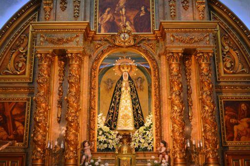 Ermita de la Soledad, retablo